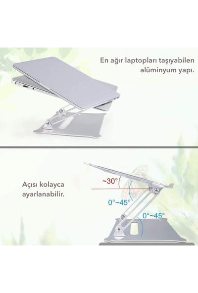 iDock N30 Alüminyum Ergonomik Tam Ayarlı Laptop Bilgisayar Standı