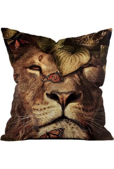 Sweet Home Arts'lion Yastık Kırlent Kılıfı