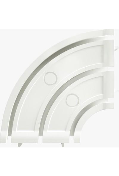 Slimflex Konfor 90 Derece Köşe Dönüş 3 Kanallı 1 Adet