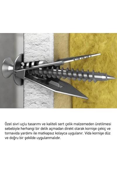 Slimflex Korniş Montaj Seti Alçıpan 4m