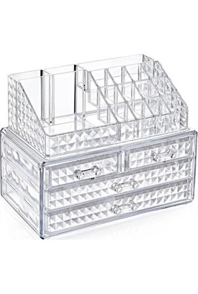 Box Up Diamond Klasik 4'lü Çekmece Set Organizer