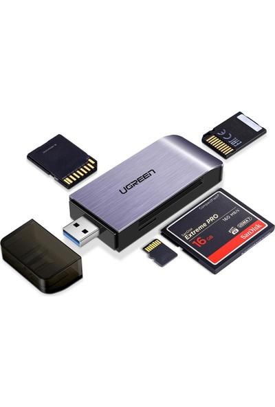 Ugreen USB 3.0 SD Micro SD Memory Stick Cf Kart Okuyucu