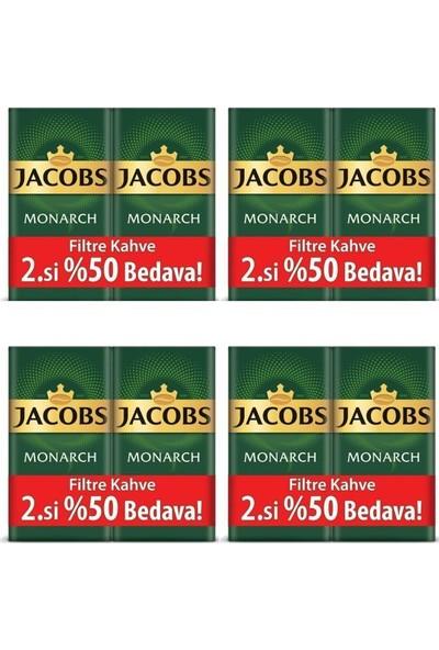 Jacobs Monarch Filtre Kahve 500 gr %50 4'lü Set
