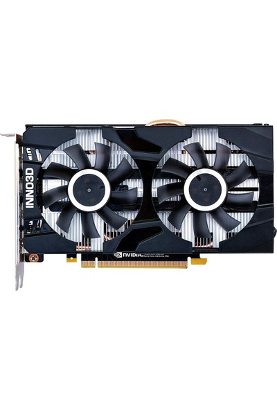 Inno3D Nvidia GeForce GTX1660Ti Twin x2 6GB 192Bit GDDR6 (DX12) PCI-E 3.0 Ekran Kartı (N166T2-06D6-1710VA15)