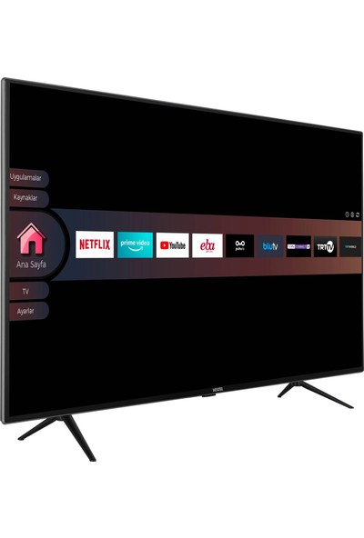 """Vestel 55UD9281 55"""" 139 Ekran Uydu Alıcılı 4K Smart LED Tv"""
