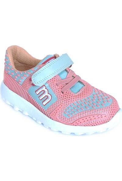 Minipicco Unisex Çocuk Pembe Mavi Spor Ayakkabı
