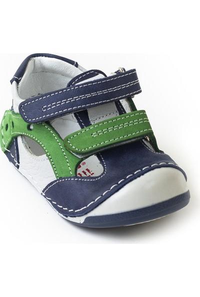 Minipicco Erkek Bebek Kot Deri İlk Adım Ayakkabı