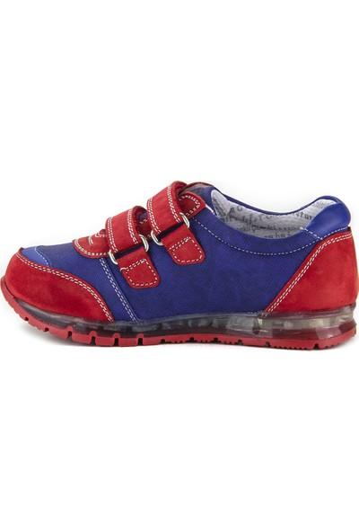 Minipicco Erkek Çocuk Kırmızı Deri Ayakkabı