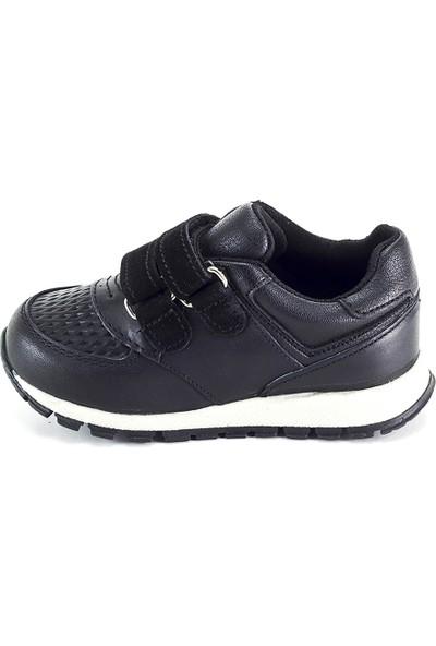 Minipicco Erkek Çocuk Siyah Deri Ayakkabı