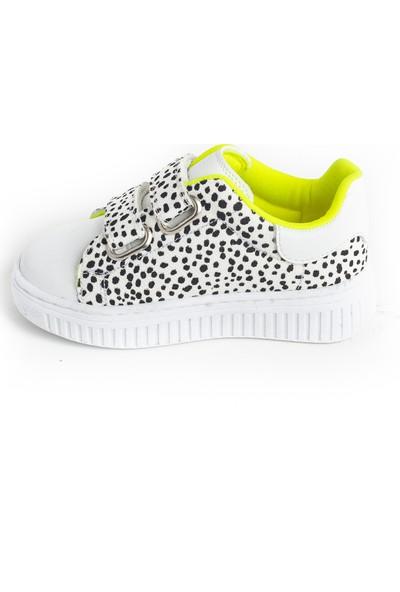 Minipicco Kız Çocuk Beyaz Ayakkabı
