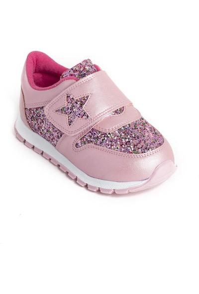 Minipicco Kız Çocuk Pembe Spor Ayakkabı
