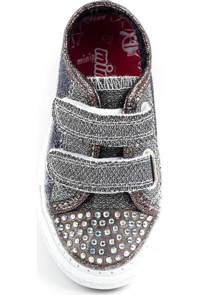 Minipicco Kız Çocuk Platin Spor Ayakkabı