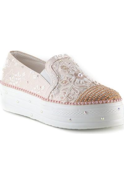 Minipicco Kız Çocuk Pudra Ayakkabı
