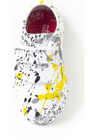 Minipicco Unisex Çocuk Boyalı Spor Ayakkabı