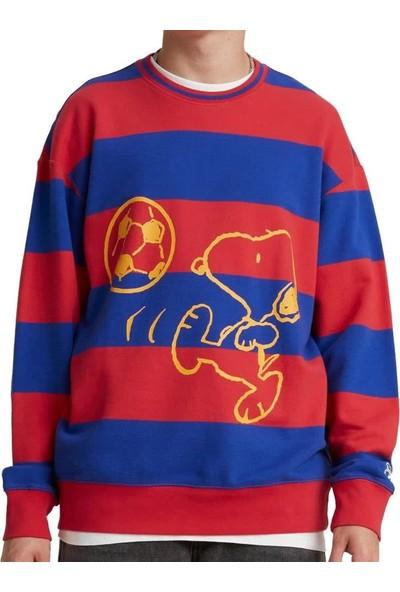 Levis Erkek Sweatshirt Relaxed Crew 23894-0003