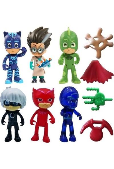 Pj Masks Figür Oyuncakları 10'lu Set