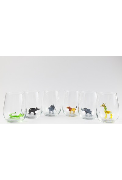 Adamodart Amazon Özel Seri Su Bardağı 6'lı Set