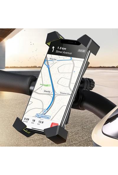 Ugreen Bisiklet Motosiklet 360° Dönebilen Telefon Tutucu