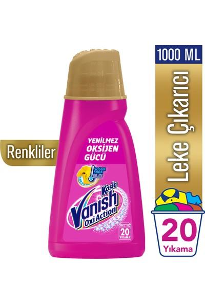 Vanish Kosla Oxi Action Gold Sıvı Leke Çıkarıcı 1000 ml Renkliler İçin