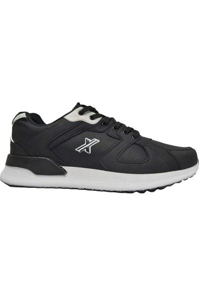 Wanderfull 4057 Erkek Spor Ayakkabı Siyah Beyaz