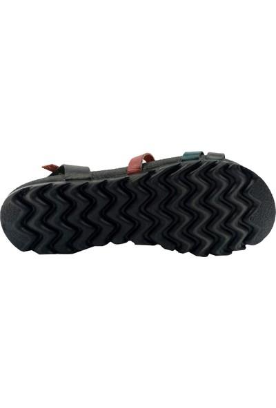 Freefour 1615 Deri Kadın Sandalet