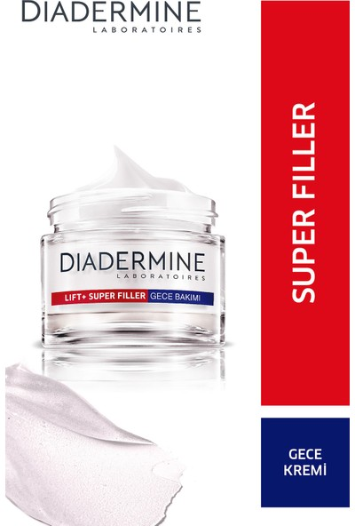 Diadermine LIFT+ Super Filler Gece Kremi 50 Ml