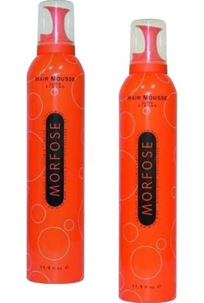 Morfose Saç Köpüğü Turuncu 350 ml 2 Adet