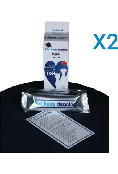 Pet Body Cleaning Koku Giderici Islak Nano Havlu Seti 2 'li Paket
