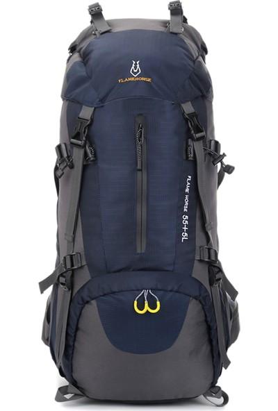 Buyfun 60 lt Yürüyüş Sırt Çantası Suya Dayanıklı Açık Spor Trekking