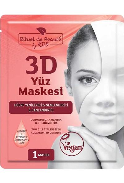 rituel De Beaute Hücre 3D Yenileyici ve Canlandırıcı Yüz Maskesi