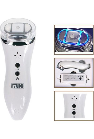 Mini Hifu Ultrasonik Rf Yüz Bakım Cihazı Peeling Dermapen Yüz Ütüsü Mezoterapi Cilt Temizleme Yenileme Anti Aging Makinesi
