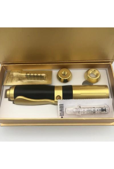 Hyaluron Pen Dolgu Kalemi Iğnesiz Enjeksiyon Yüz Dolgu Cihazı Mezoterapi Dudak Doldurma Dolgunlaştırma Makinesi Cilt Gençleştirme Kırışıklık Giderme Aleti