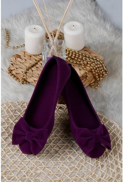 Renkli Butik Kadın Ev Babeti Rahat Günlük Ayakkabı