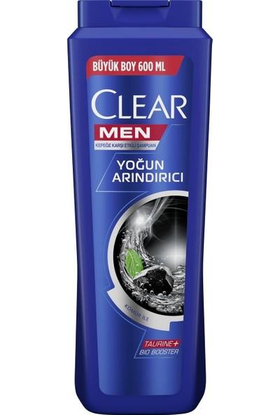 Clear Men Şampuan Yoğun Arındırıcı 600 ml 2 Adet