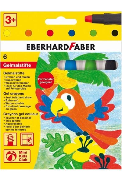 Eberhard Faber Gel Crayon Sulandırılabilir Jel Mum Boya 6 Renk Basic