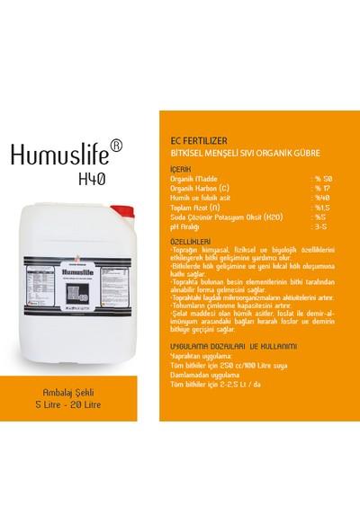 Altera Humuslife H40 Bitkisel Menşeli Sıvı Organik Gübre 20lt
