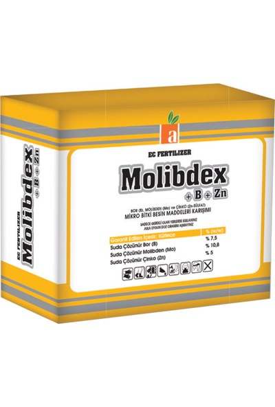 Altera Molibdex B+Zn Mikro Bitki Besin Maddeleri Karışımı 250gr