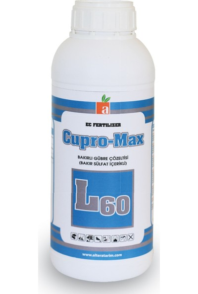 Altera Cupro-Max L80 Bakırlı Gübre Çözeltisi 1lt