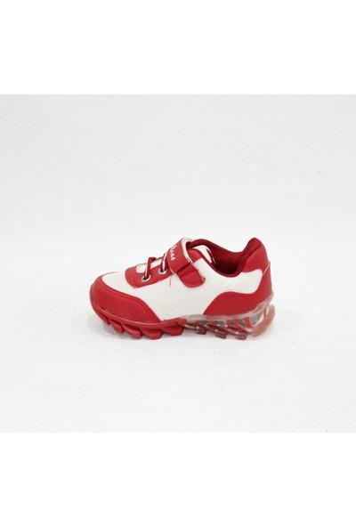 Miltone Kırmızı Beyaz Bebe Anorak Spor Ayakkabı