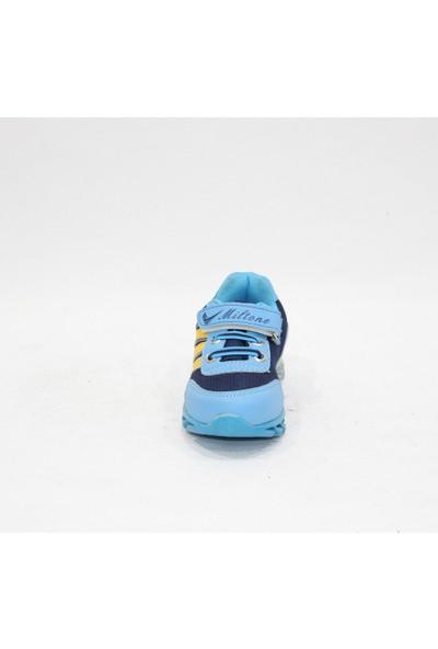 Miltone Turkuaz Mavi Bebe Anorak Spor Ayakkabı
