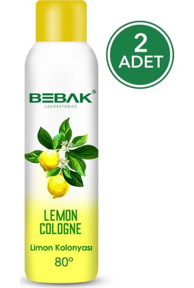 Bebak Sprey Kolonya Limon 150 ml 2 Adet