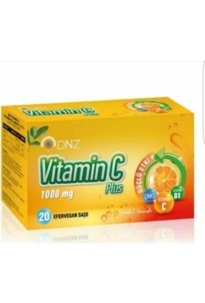Dnz Vitamin C Plus 1000 mg 20 Efervesan Saşe