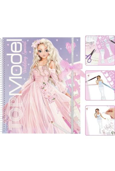 Top Model Create Your Wedding Special Colouring Book Tasarım Defteri