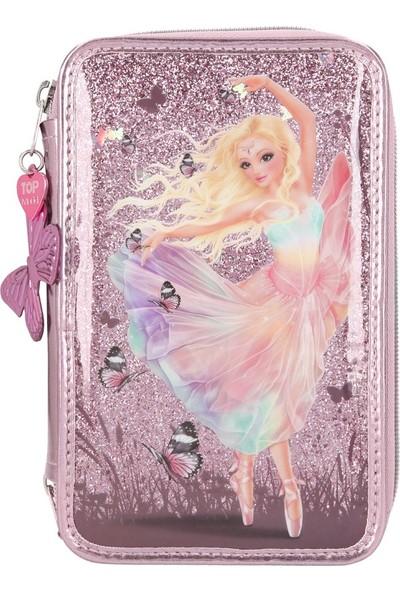 Top Model Fantasy Model Triple Pencil Case Ballet 3 Katlı Dolu Kalem Kutu