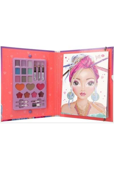 Top Model Make-Up Creative Folder Makyaj Yapma Tasarım Defteri