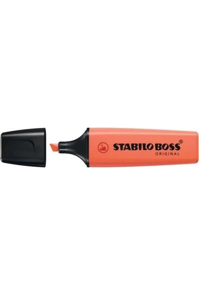 Stabilo Boss Original Pastel Kırmızı 70/140 Fosforlu Kalem