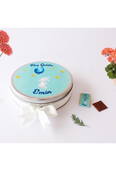 Hayal Sepetim Erkek Bebek Çikolatası 100 Madlen+Draje