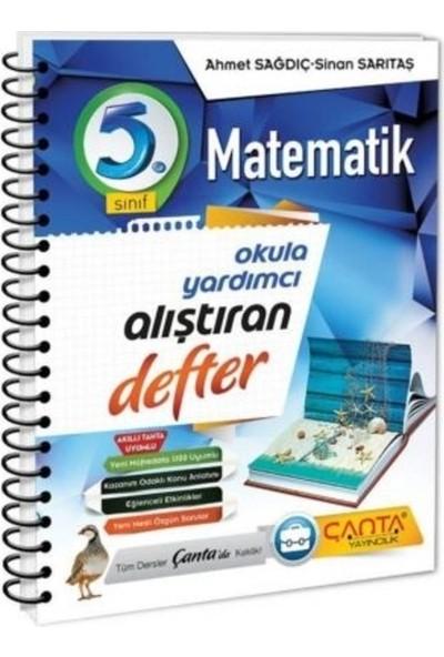Çanta Yayınları 5. Sınıf Defter Alıştıran Matematik