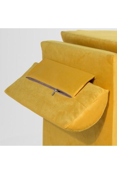 Genova Bella Puf Olabilen Dinlenme Koltuğu Sarı