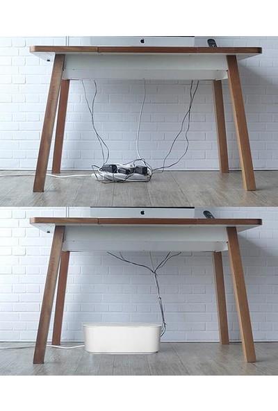 Decobella 2 Adet Kablo Gizleme ve Düzenleme Kutusu